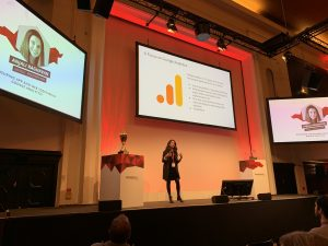 Anjali Ragahavan auf Marketing Analytics Summit