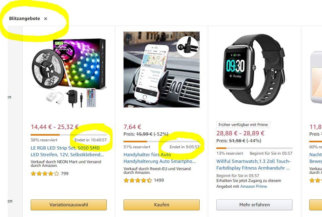 Blitzangebot Prime Day