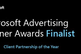 Microsoft Advertising Partner Award Finalist