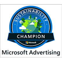 Microsoft Sustainability Badge